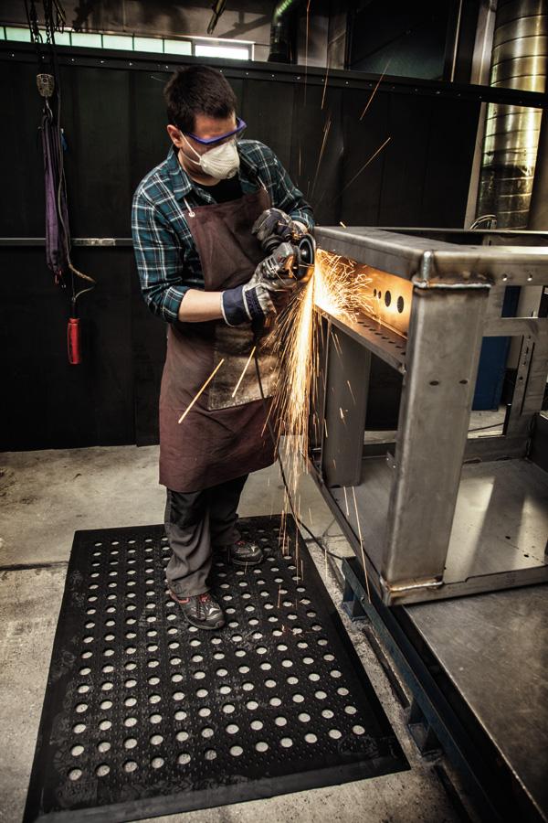 Arbeitsplatzmatte für die Industrie von isoloc