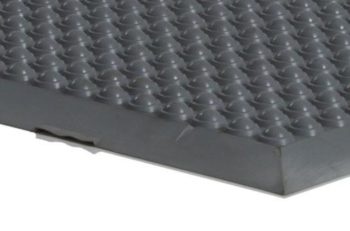 Anti-Ermüdungsmatte ERGOMED HE, 900 x 600 mm. Umlaufend abgeschrägte Kanten.