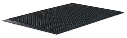 ERGOMED S Steharbeitsplatzmatte von Isoloc, 90 x 60 cm, schwarz